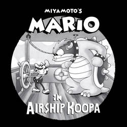 Miyamoto's Mario in Airship Koopa by MdMbunny