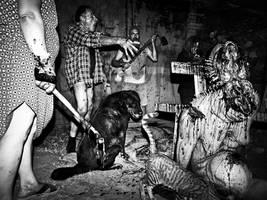 Killing with facial mutilation by AlessandroBavari