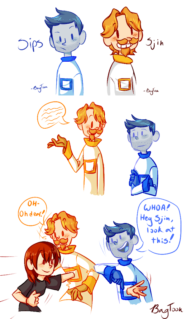 Sips And Sjin By Clovertoon On Deviantart