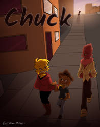 Chuck by CloverToon
