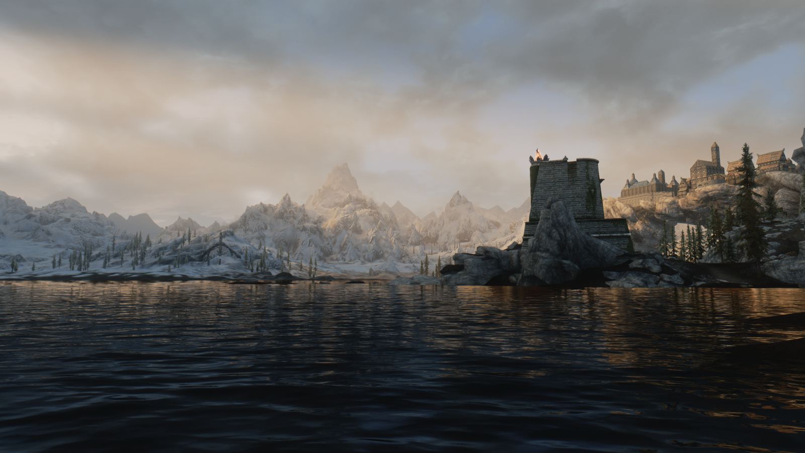 Looking for an ENB that renders realistic cloud shadows
