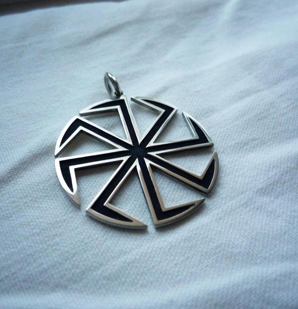 Slavic Amulet Pendant by Silver-Otter on DeviantArt