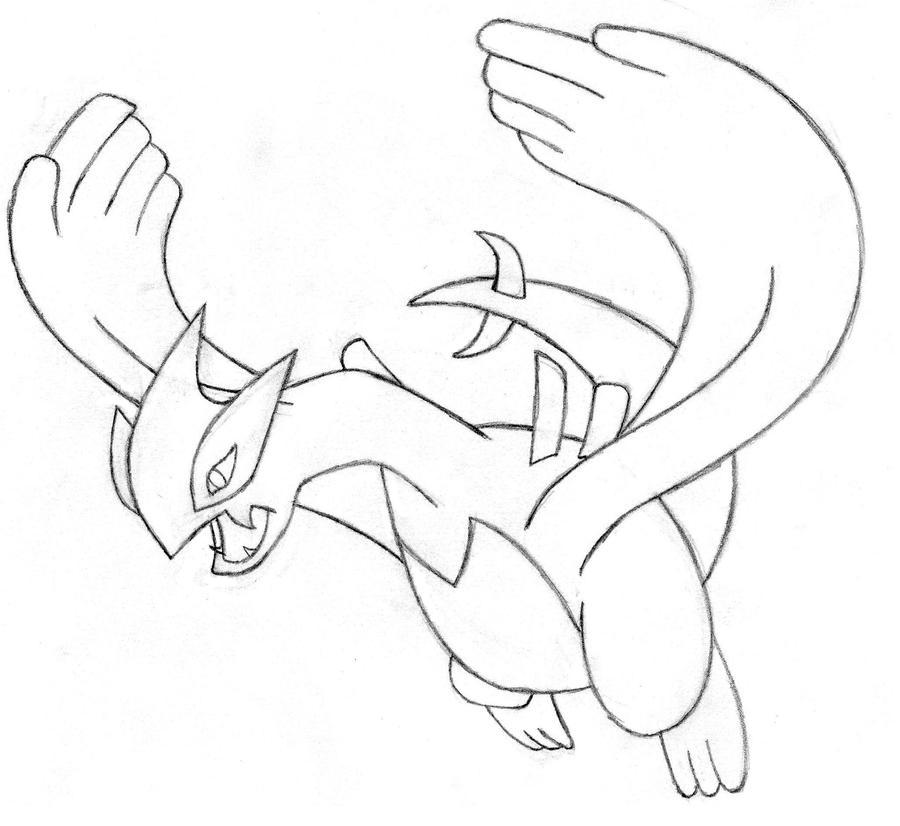 pokemon lugia coloring pages - photo#7
