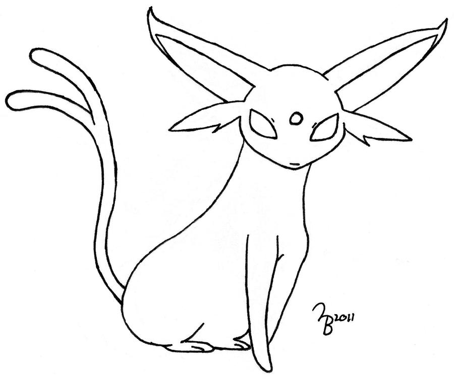 espeon pokemon coloring pages - photo#15
