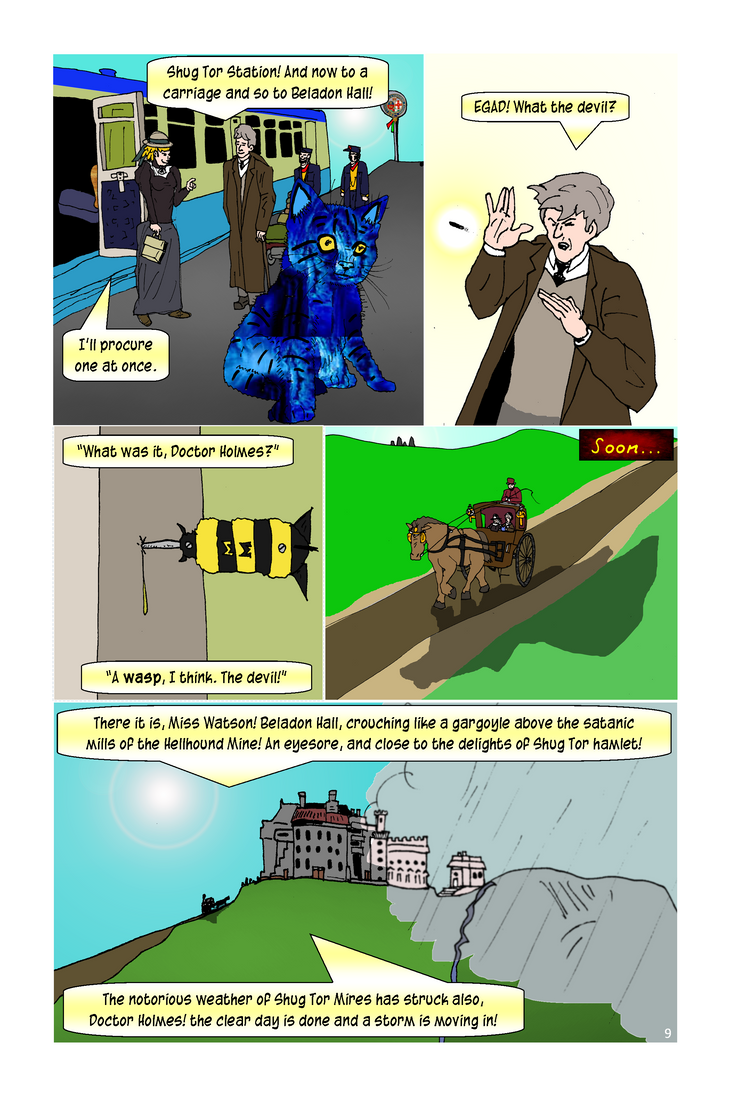 Doctorholmes P009 by Flying-Tiger-Comics