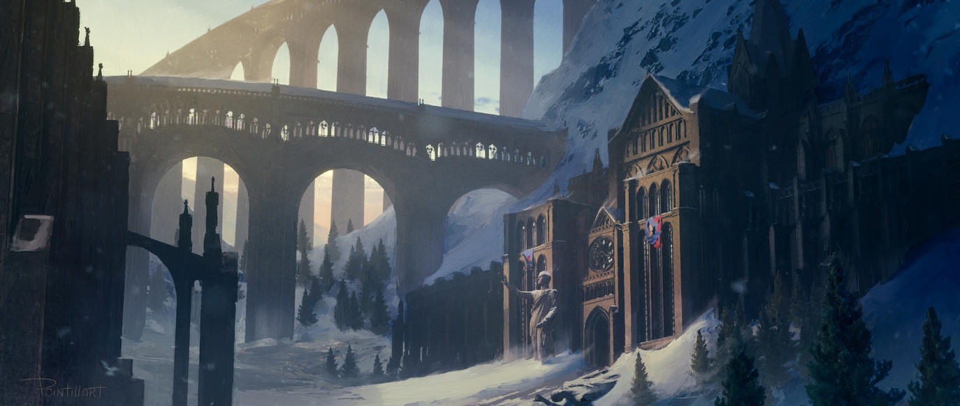 Snowy Castle by Orbi51