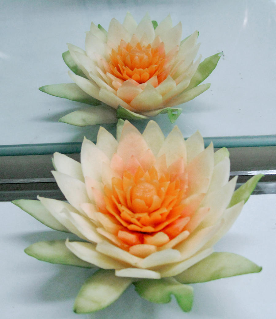 Carving fruit by nganthan on deviantart