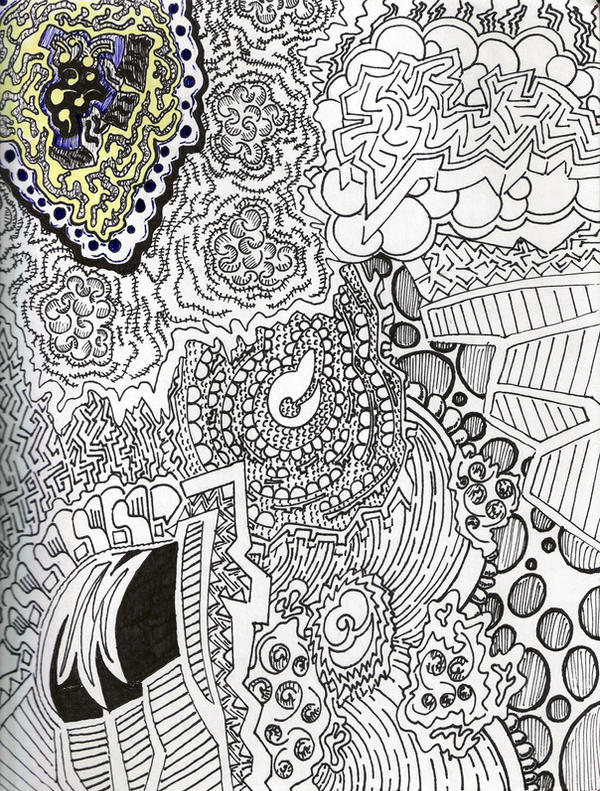 Abstract Line Drawing Artists : Abstract line art by greatthepat on deviantart