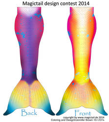 Magictail mermaid design 2014