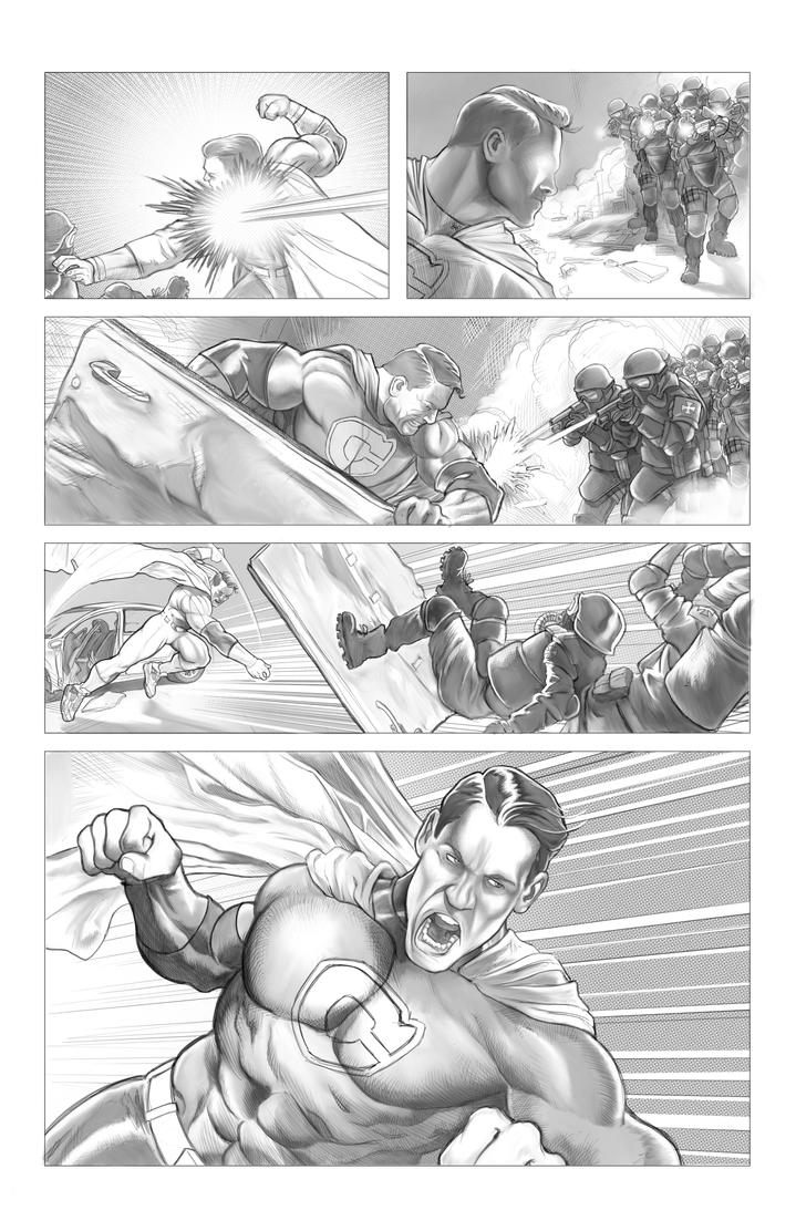 Super Human Sample Page by soonergriff