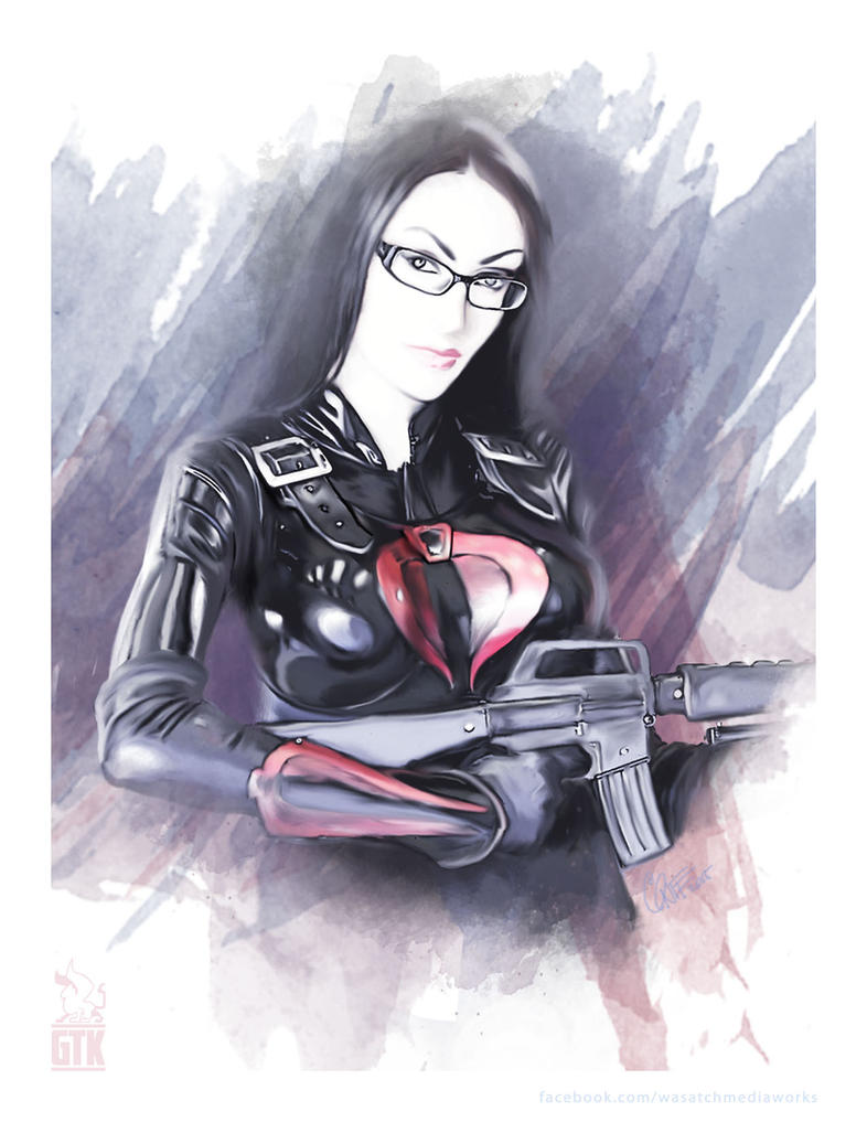 Baroness Watercolor by soonergriff