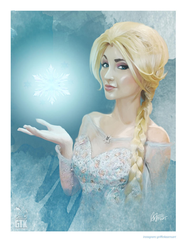 Elsa by soonergriff