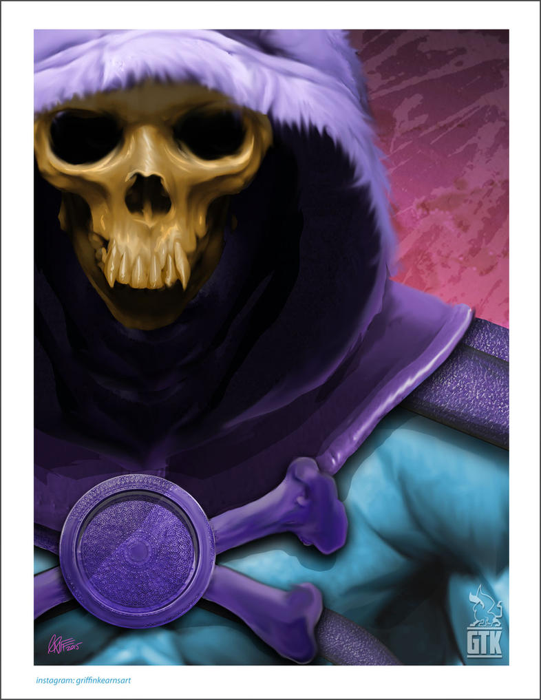Skeletor by soonergriff