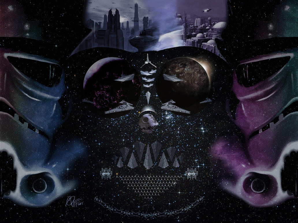 Vader Stormtrooper Mosaic by soonergriff
