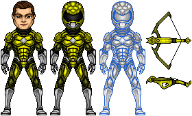 Power Rangers Lomeli - Facu the Yellow Snake by UltimateLomeli