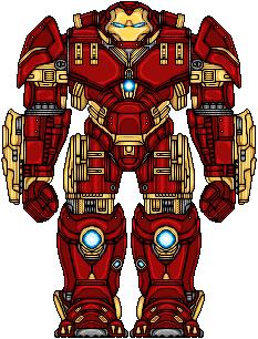 Iron Man Hulkbuster by UltimateLomeli