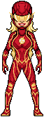 The Flash, The Fastest Woman Alive by UltimateLomeli