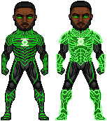 Green Lantern, The Emerald Soldier by UltimateLomeli