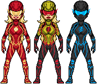 The Flash Variants by UltimateLomeli