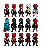 Dark Avenger Sprites by UltimateLomeli