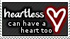 Heartless. by Snuf-Stamps