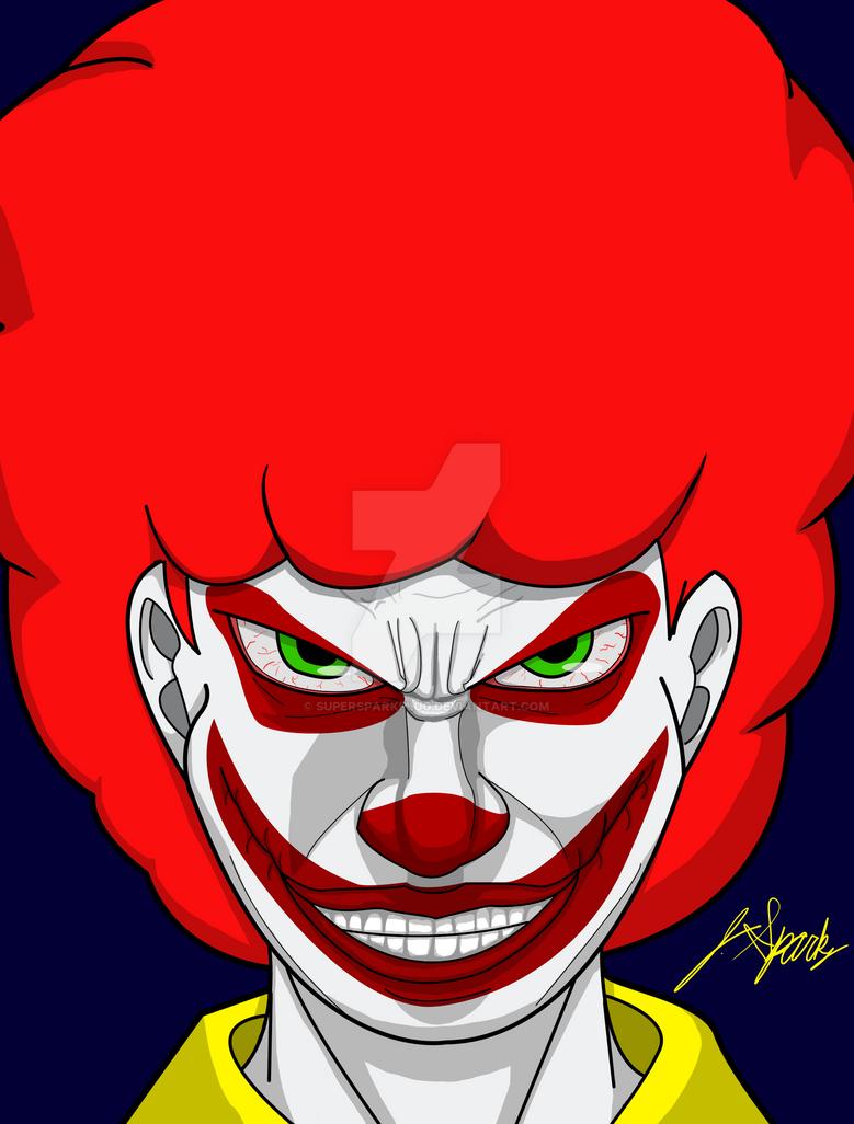 Ronald McJoker by SuperSparkplug