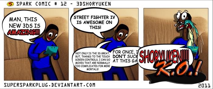 Spark Comic 12 - 3DShoryuken