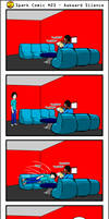 Spark Comic 23 - Awkward Silence by SuperSparkplug