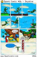 Spark Comic 26 - Skydive by SuperSparkplug