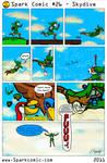 Spark Comic 26 - Skydive