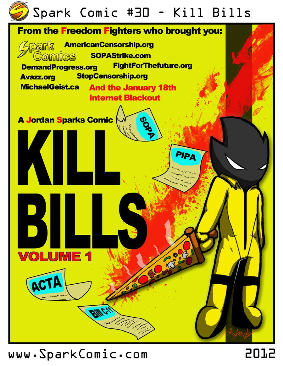 Spark Comic 30 - Kill Bills by SuperSparkplug
