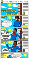 Spark Comic 46 - Heat wave