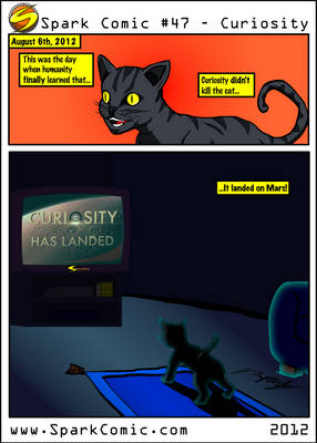 Spark Comic 47 - Curiosity
