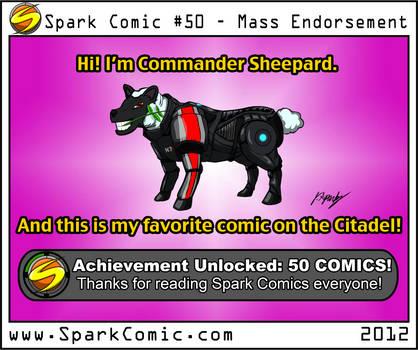 Spark Comic 50 - Mass Endorsement