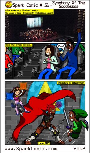 Spark Comic 51 - Symphony Of The Goddesses