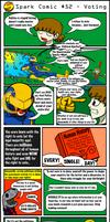 Spark Comic 52 - Voting