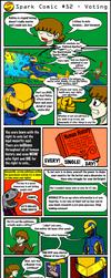 Spark Comic 52 - Voting by SuperSparkplug