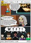Spark Comic 59 - Art History