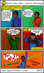 Spark Comic 60 - Yearly Challenge by SuperSparkplug