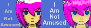 I Am Not Amused - Then Vs Now