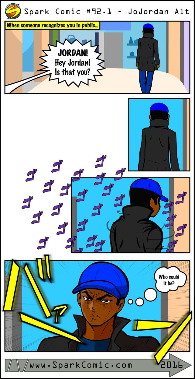 Spark Comic #92.1 - JoJordan Alt by SuperSparkplug