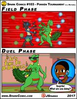 Spark Comic #103 - Pokken Tournament by SuperSparkplug