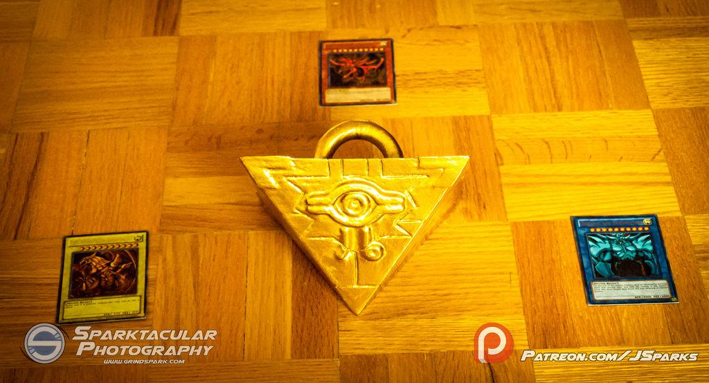 Millennium Puzzle (3D Print) by SuperSparkplug