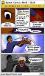 Spark Comic #105 - 2020 by SuperSparkplug