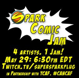 Spark Comic Jam