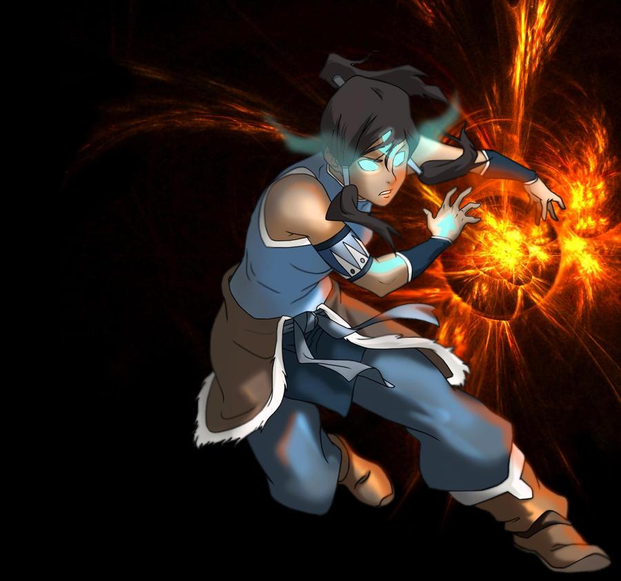 Movie Avatar State Aang: رمزيات اسكايبي اسطورة كورا Korra_avatar_state_solar_flare