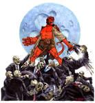 Hellboy vs. Zombies