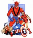 The Avengers c. 1964