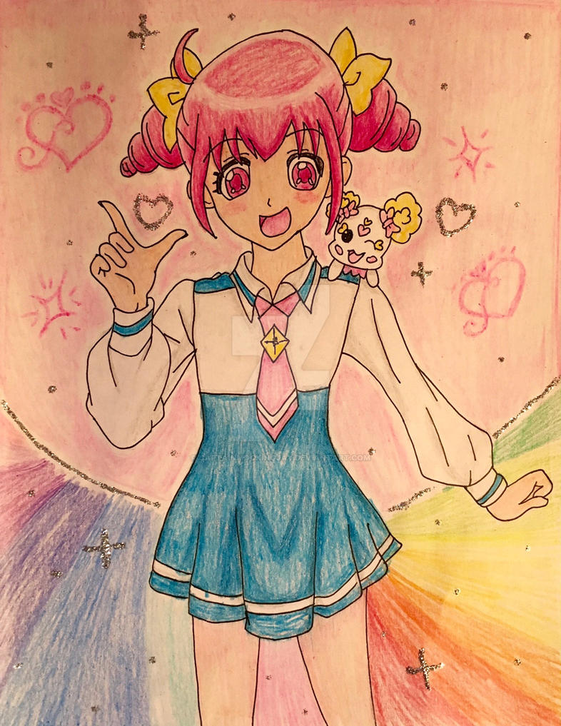 How To Draw Emily From Glitter Force