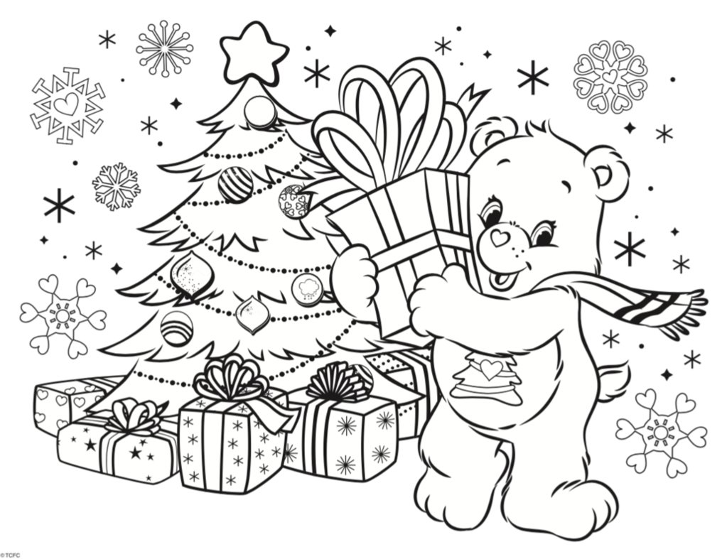 Care Bears 2016 Winter Holiday Coloring Contest by Care-Bears ...